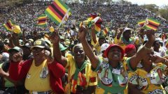 Zimbabweans celebrating in the past
