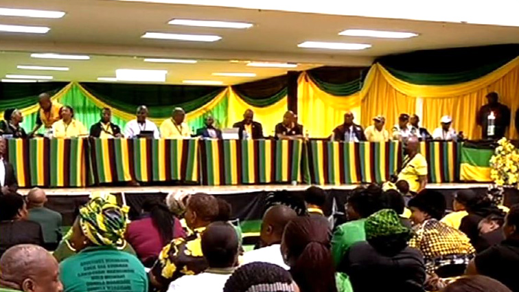 ANC members attending a conference