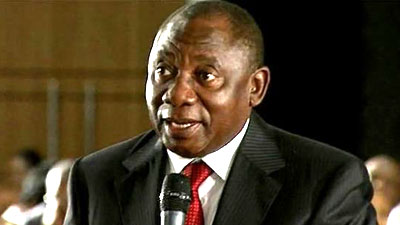 President Cyril Ramaphosa has asked for representations from Jiba and Mrwebi