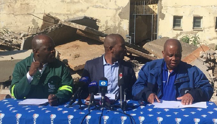 DA leader, Mmusi Maimane, Herman Mashaba