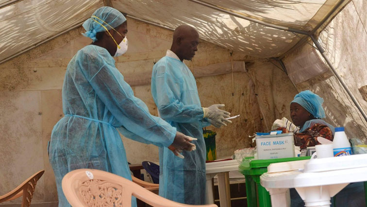 Ebola, which causes fever, vomiting and diarrhoea, is spread through direct contact with body fluids.