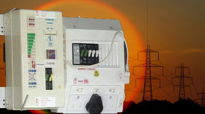 Eskom card electricity box
