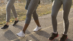 Ladies walking