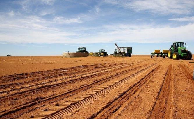 Farm land and equipment