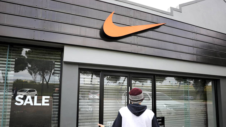 A Nike store