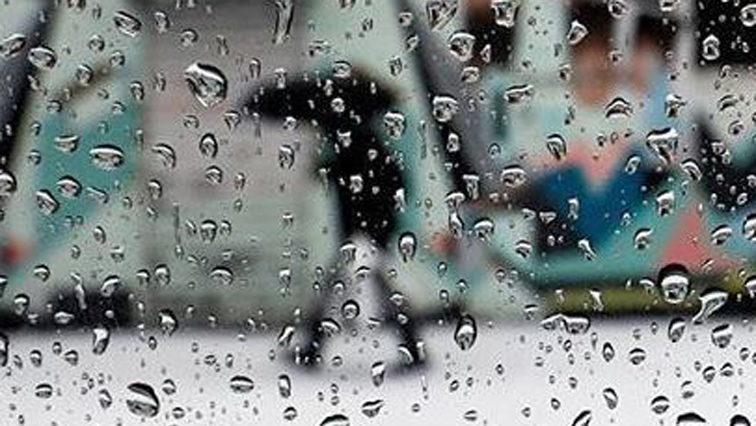 The heavy rain is part of a cold front system