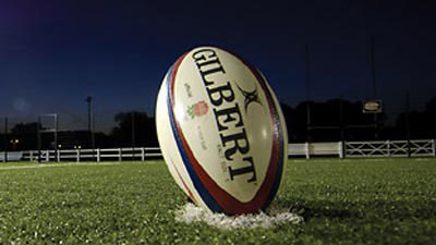 A Gilbert rugby ball