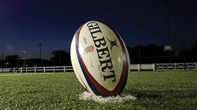 A Gilbert rugby ball