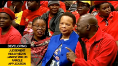 Leadership of the SACP and Limpho Hani sitting in court