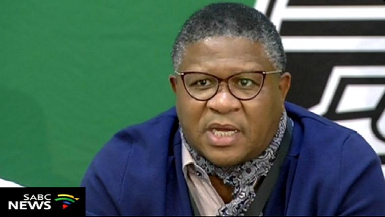 Fikile Mbalula was speaking in Polokwane addressing the elections Manifesto