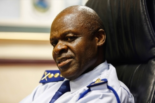 National Police Commissioner Khehla Sitole