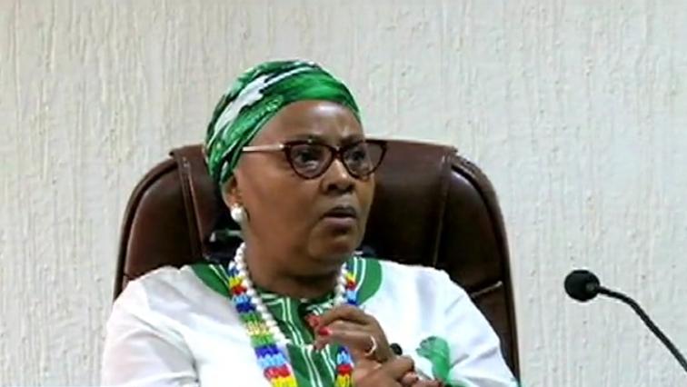 SA Defence Minister, Nosiviwe Mapisa Nqakula