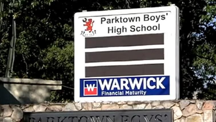 Parktown boys High School logo