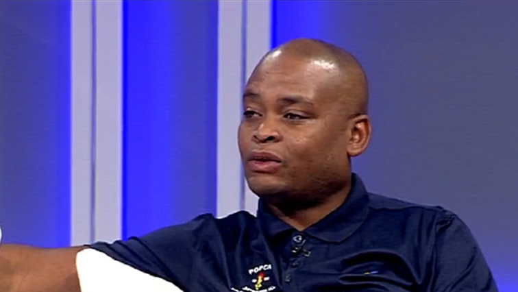 POPCRU spokesperson Richard Mamabolo during the interview