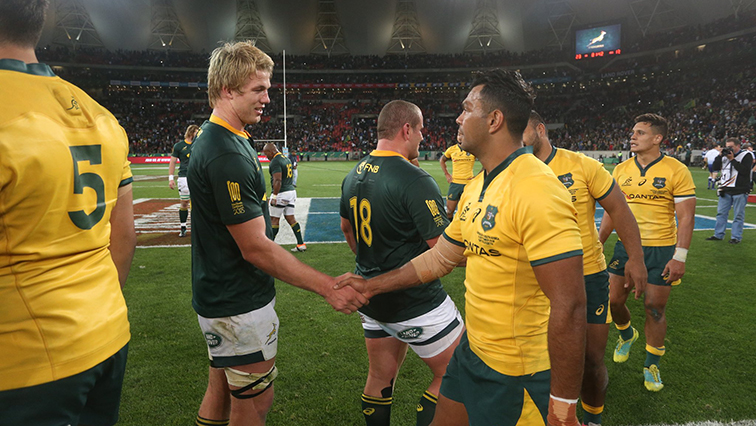 The Wallabies imported supporters of their own.