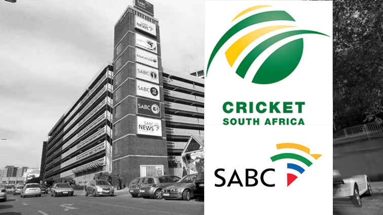 Cricket SA and SABC logos