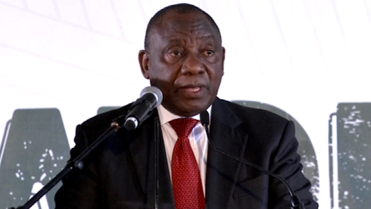 Ramaphosa speaks