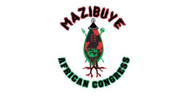 Mazibuye African Congress MAC logo