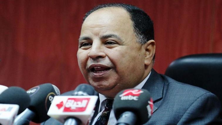 Egypt Finance Minister Mohamed Maait