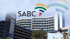 SABC building and logo