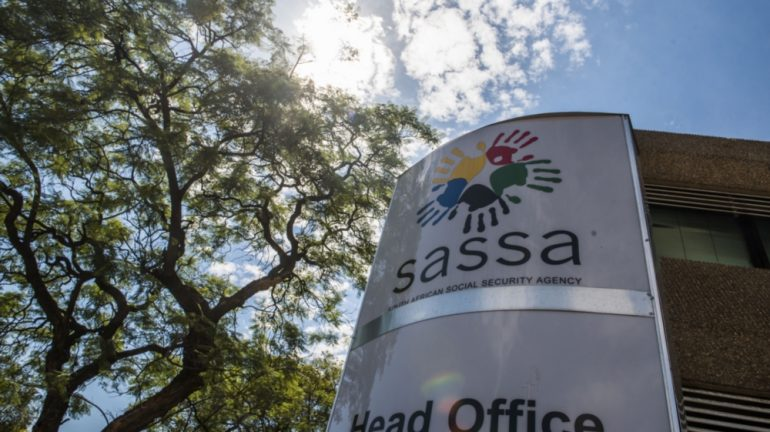 Sassa logo on a building