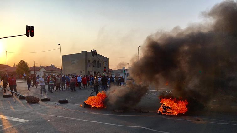 Johannesburg Metro police have been patrolling the area over the weekend and the situation has been calm.
