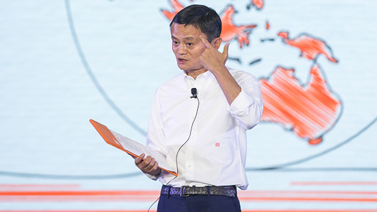 Alibaba co-founder and chair Jack Ma