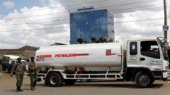 A fuel tanker