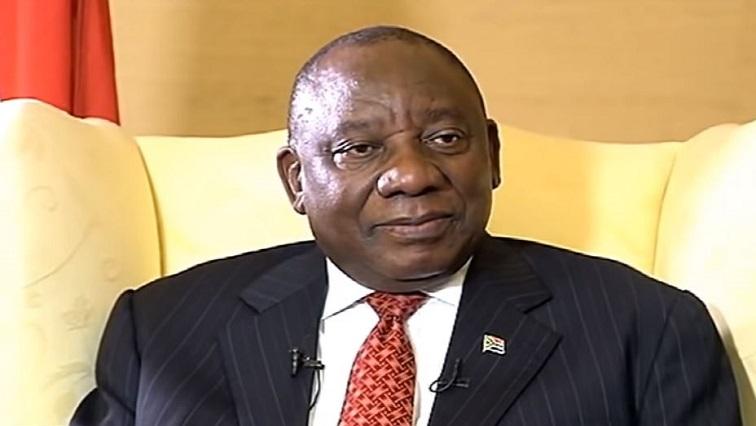 Ramaphosa on SABC interview