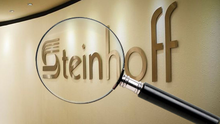 Steinhoff logo with microscope