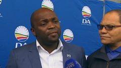 Tshwane mayor Solly Msimanga