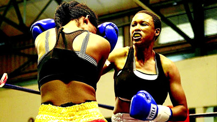 Nozipho Bell During a fight