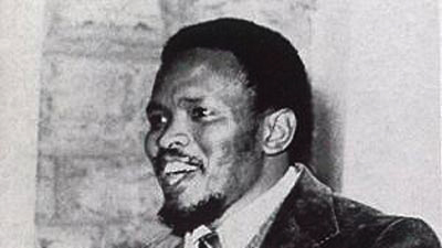 Steve Biko talking