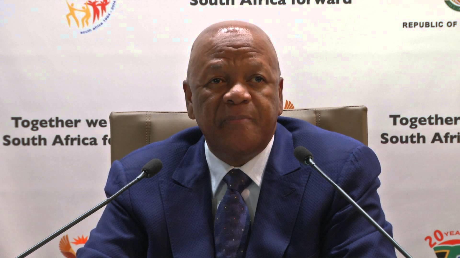 Minister of Energy Jeff Radebe