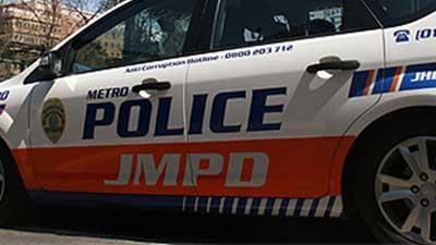 Johannesburg Metro police vehicle