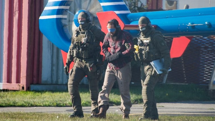 SABC News 911 suspect AFP