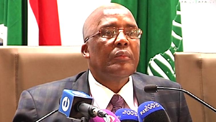 Minister aaron Motsoaledi