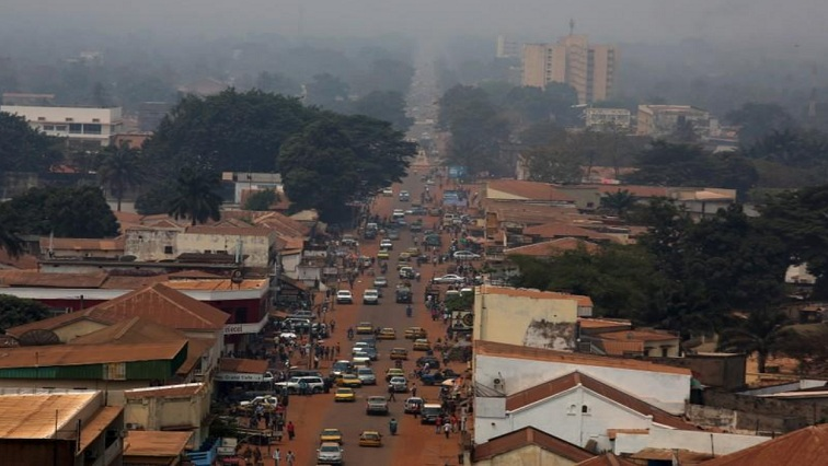 A view of Bangui