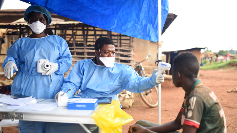 Ebola victim getting treatment