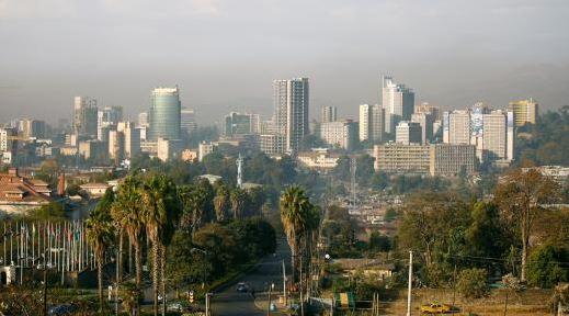 Ethiopia's capital Addis Ababa