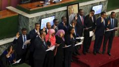 Ethiopia's cabinet was reduced from 28 ministries to 20 and 10 women occupy key ministries.