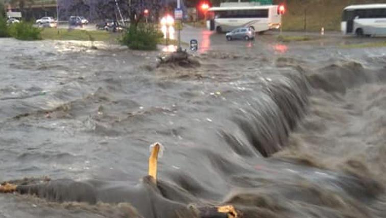 Flooding in Pretoria