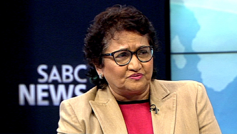 ANC Deputy Secretary General Jessie Duarte