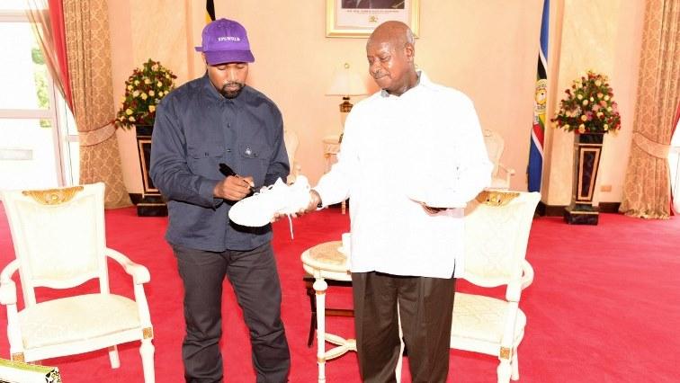 SABC News Kanye West – Museveni AFP