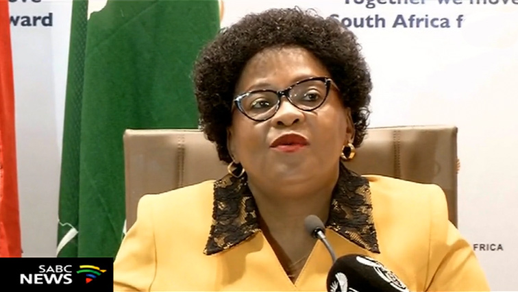 Minister of Communications Nomvula Mokonyane