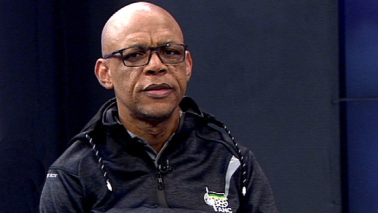 ANC spokesperson Pule Mabe
