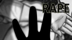 Rape and hand graphic