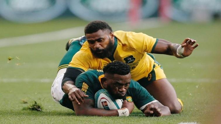 South Africa's captain Siya Kolisi