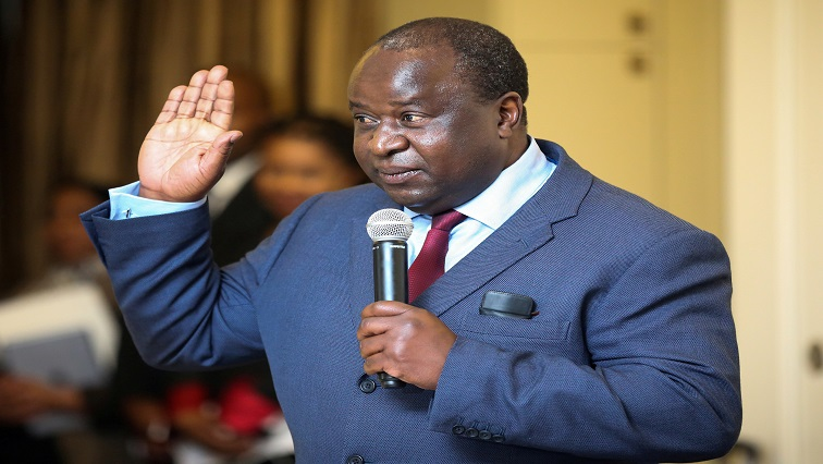 Newly-appointed South African Finance Minister Tito Mboweni