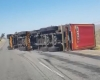 WATCH:  Cape Town wind blows over truck